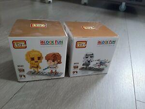 Loz diamond blocks. Star Wars x2 bundle