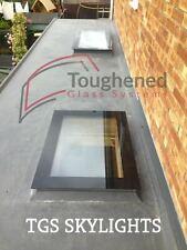 Rooflight Flat Roof Skylight Double Glazed 1000mm x 2000mm skylight ALL SIZES