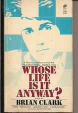 WHOSE LIFE IS IT ANYWAY? ~ AVON BARD 64808 1980 10-4 BRAIN CLARK ~ RIGHT TO DIE
