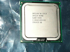 2 Intel Xeon SLBBC E5410 2.33Ghz 1333 Quad Core XEON CPU's - Matched set