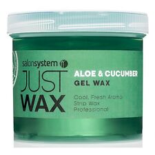 Salon System Just Wax Aloe Vera and Cucumber Gel Wax