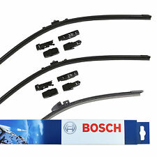 VW Tiguan 5N SUV Bosch Aerotwin Front & Rear Window Windscreen Wiper Blades