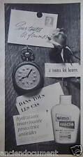 PUBLICITÉ 1959 SIMO NUCIA CRÈME ABSOLUE MI-FLUIDE DE SIMON - ADVERTISING