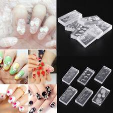 3D Acrylic Mold for Nail Art Decorations Nail Art Templates Pattern Nails Art BS
