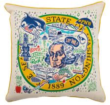 "State Of Washington Oversize 20"" Decorative Throw Pillows Wholesale Lot of 6 New"