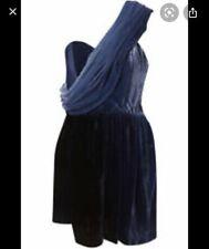 Blue Velvet Topshop Boutique Dress Size 10