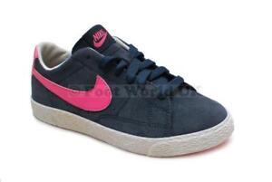 Enfants Nike Blazer Bas (Ps) - 555191 400 - Bleu Rose Baskets