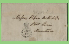 More details for india / mauritius 1851 entire 'ship letter' with mauritius crown cancel receiver