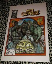 MR BUNGLE COMIC BOOK PRINT 11X14 SIGNED 2013 KEY HOT RARE HTF ROCK N ROLL PUNK