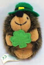Vintage Russ Irish Leprechaun with Clover Hedgehog Hat Lapel Pin