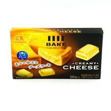 BAKE Crispy, creamy bite-size cheesecakes with 3 types of cheese Morinaga Japan