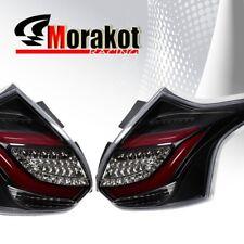 Ford Focus ST 2012-2014 5Door LED Tail Light Red Streak Black Housing Clear Lens