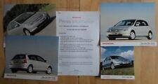 HONDA CIVIC orig 2000-2001 UK Mkt Press Release + 4 Photos - Brochure