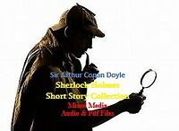 Sherlock Holmes - Conan Doyle - 9 Audio/Pdf Books (Multi Media)