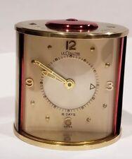 bec9ce578ebc Vintage BRASS JAEGER LECOULTRE MEMOVOX 8 DAYS TRAVEL ALARM CLOCK SWISS MADE