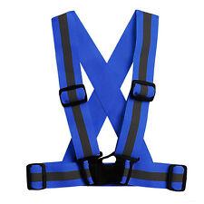 Reflective Vest Adjustable Safety Security Visibility Vest Gear Stripes Jacket