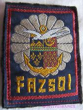 IN13195B - INSIGNE TISSU PATCH FAZSOI Forces Armées Zone Sud Océan Indien