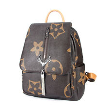 Women Anti-theft Backpack Fashion School Travel Shoulder Bag Tassel Handbags
