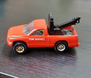 1998 Maisto 1:64 Red Dodge Dakota Wrecker Tow Service Truck