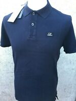 C.P. Company Short Sleeve Cotton Polo Shirt Brand New With Tags Total Eclipse