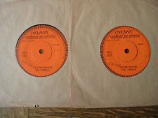 "The Tassels - To A Soldier Boy. Promo Demo 7"" Vinyl Single. 2 Discs"
