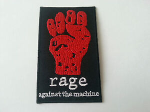 Rage Against The Machine Sew or Iron On Patch