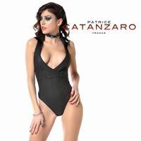 Patrice Catanzaro - Ondine - Body string néoprène noir style marin