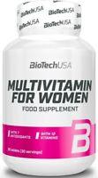 BIOTECH USA MULTIVITAMIN FOR WOMEN - 60 TABLETS MULTIVITAMIN BEST FORMULA !