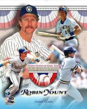 Robin Yount Milwaukee Brewers HOF Premium MLB Baseball POSTER Print