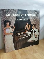 An Eminent Occasion With John Mann 12 Inch Vinyl Record Album Signed