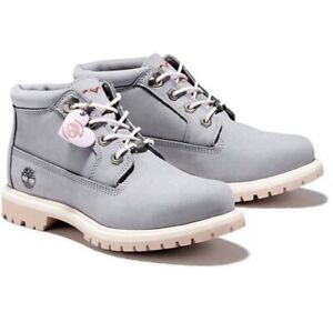 Timberland Women's Nellie Waterproof Chukka Boots Wheat Nubuck Size 9.5