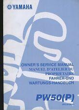 (23B) REVUE TECHNIQUE MANUEL ATELIER MOTO YAMAHA PW50 (P)