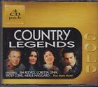 COUNTRY LEGENDS - GOLD - VARIOUS ARTISTS on 4 CD's - NEW