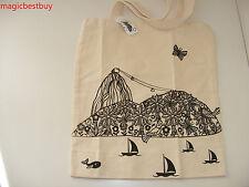 Brand New Parceria Carioca Tote Canvas Large Reuseable Bag Retail $29.99