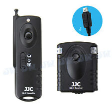 JJC II Wireless Shutter Release For Olympus STYLUS 1 SH-1 OM-D E-M10 E-M1 E-M5
