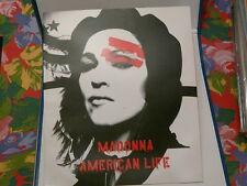 Plan media MADONNA France Sortie album American life