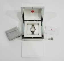 Michele Mini Urban Stainless Steel Ladies Watch