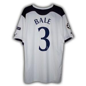 Gareth Bale Tottenham Hotspur Shirt Home Champions League 2010/11 RARE BNWT used