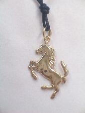 Cavallino Rampante: Ciondolo in Oro Giallo 750 millesimi - 18 Kt - pendente -