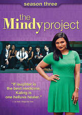 The Mindy Project: Third Season 3 (DVD, 2015, 3-Disc Set)