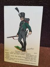 Card Rene North 37 Prussian Infantry No 5