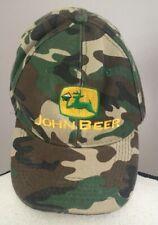 Men's John Beer Hat Camouflage Adjustable Baseball Cap