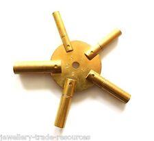 OTTONE STAR SPIDER Orologio Molla Avvolgitore AVVOLGIMENTO CHIAVI dimensioni 3,5,7,9,11 PER OFFICINA