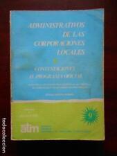 ADMINISTRATIVOS DE LAS CORPORACIONES LOCALES -CONTESTACIONES AL PROGRAMA OFICIAl