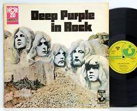 Deep Purple         In Rock        Hör Zu         Gat          NM  # E