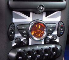 Consola Central Inserto Union Jack Negro para Mini Cooper 55 Clubman R60