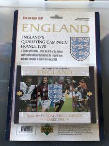 SEALED ENGLAND Upper Deck Box With DAVID BECKHAM ENGLAND ROOKIE - 1997 PSA 10 ?
