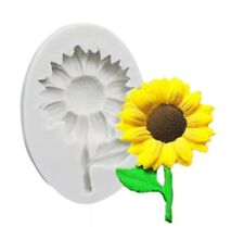 SUNFLOWER SILICONE MOULD-SUN FLOWER MOLD-RESIN/CAKE/ICING/SUMMER-CHOCOLATE/FIMO
