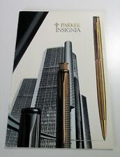 Historical Parker Pens Factory Archive Insignia Catalogue  (AR 608)