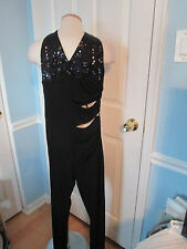 bebe sequin jumpsuit  small new                #137